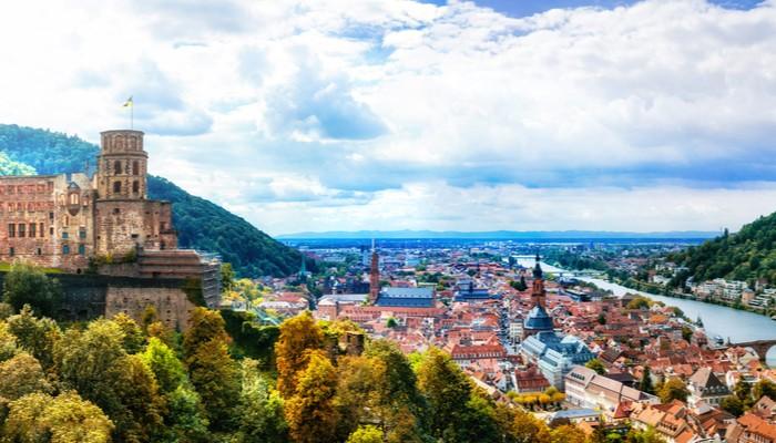 Heidelberg Germany Most Beautiful Medieval town