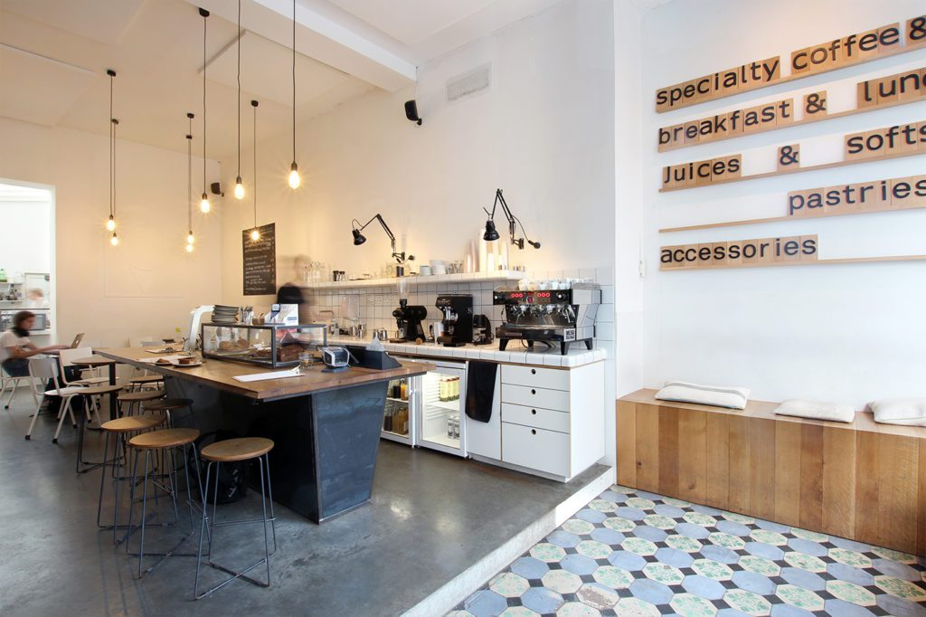 Brussels: Mok is on the list of Best Cafes For The Best Coffee In Europe