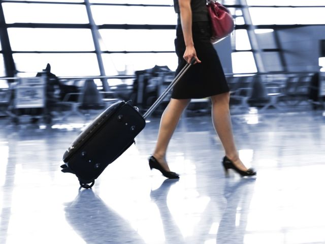 Luggage inside Munich airport