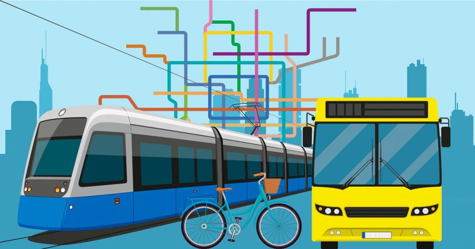 Use Public Transportation Or Walk to be eco friendly
